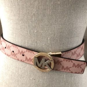 Michael Kors logo belt (Reversible)